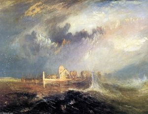 William Turner - Quillebeuf, at the Mouth of Seine