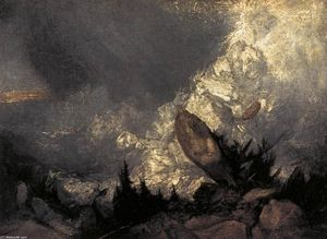 William Turner - The Fall of an Avalanche in the Grisons