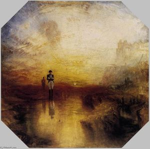 William Turner - War, the Exile and the Rock Limpet