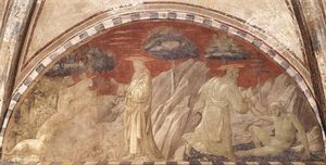 Paolo Uccello - Creation of the Animals and Creation of Adam