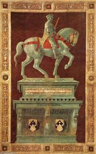 Paolo Uccello - Funerary Monument to Sir John Hawkwood