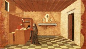 Paolo Uccello - Miracle of the Desecrated Host (Scene 1)