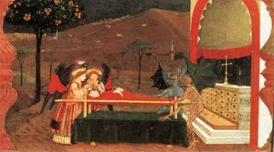 Paolo Uccello - Miracle of the Desecrated Host (Scene 6)