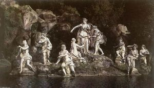 Order Museum Quality Copies | Diana and Actaeon by Luigi Vanvitelli (1700-1773, Italy) | WahooArt.com