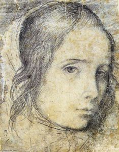 Diego Velazquez - Head of a Girl