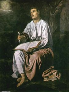Diego Velazquez - St John the Evangelist at Patmos