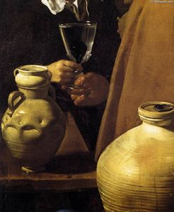 Diego Velazquez - The Waterseller of Seville (detail)
