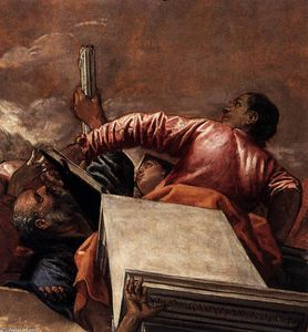 Paolo Veronese - Assumption (detail)