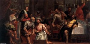 Paolo Veronese - Christ Washing the Feet of the Disciples