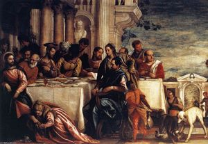 Paolo Veronese - Feast at the House of Simon (detail)