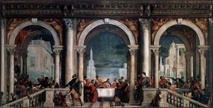 Paolo Veronese - Feast in the House of Levi