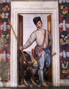 Paolo Veronese - Nobleman in Hunting Attire