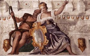 Paolo Veronese - Prudence and Manly Virtue