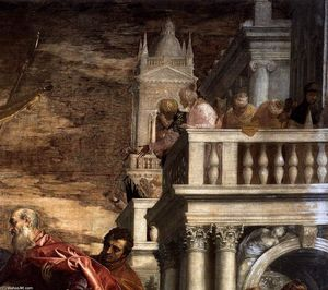 Paolo Veronese - Sts Mark and Marcellinus Being Led to Martyrdom (detail) (10)