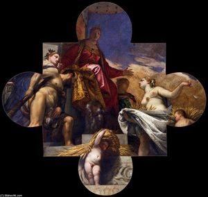 Paolo Veronese - Venice, Hercules, and Ceres