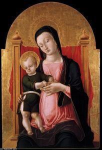 Bartolomeo Vivarini - Madonna and Child
