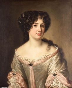 Jacob Ferdinand Voet - Portrait of Maria Mancini
