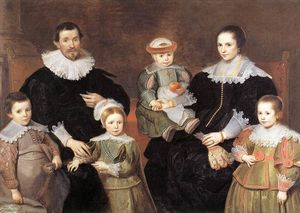 Cornelis De Vos - The Family of the Artist