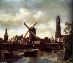 Daniel Vosmaer - The Harbour of Delft