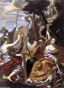 Simon Vouet - Allegory of Peace