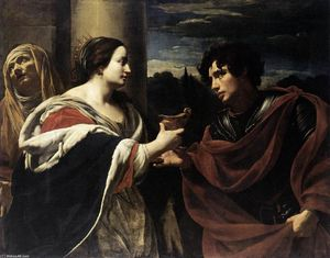 Simon Vouet - Sophonisba Receiving the Poisoned Chalice