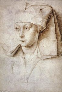 Rogier Van Der Weyden - Portrait of a Young Woman