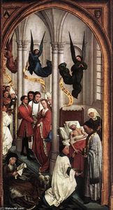 Rogier Van Der Weyden - Seven Sacraments (right wing)