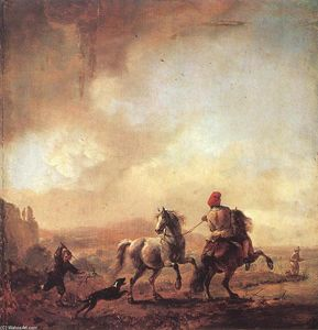 Philips Wouwerman - Two Horses