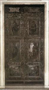 Filarete - Bronze door