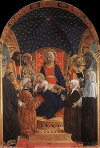 Vincenzo Foppa - Bottigella Altarpiece