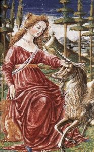 Francesco Di Giorgio Martini - Chastity with the Unicorn