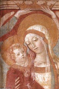 Francesco Di Giorgio Martini - Madonna and Child with Angels (detail)