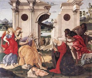 Francesco Di Giorgio Martini - Nativity (15)