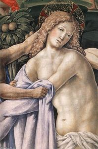 Francesco Di Giorgio Martini - The Disrobing of Christ (detail)