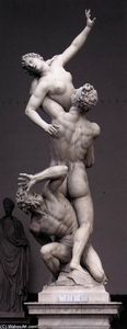 Giambologna - Rape of the Sabines (12)