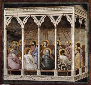 Giotto Di Bondone - No. 39 Scenes from the Life of Christ: 23. Pentecost