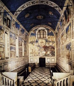 Giotto Di Bondone - The Chapel viewed towards the entrance