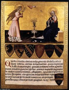 Giovanni Di Paolo - The Annunciation