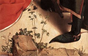 Hugo Van Der Goes - Monforte Altarpiece (detail) (23)
