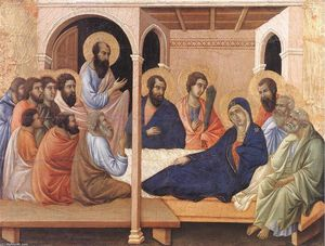 Duccio Di Buoninsegna - Parting from the Apostles
