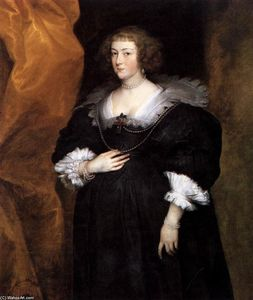 Anthony Van Dyck - Portrait of a Lady