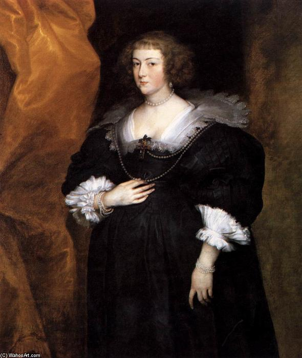 Portrait of a Lady, 1634 by Anthony Van Dyck (1599-1641, Belgium) | Paintings Reproductions Anthony Van Dyck | WahooArt.com