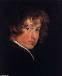 Anthony Van Dyck - Self-Portrait at the Age of Sixteen