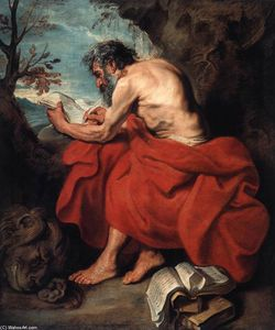 Anthony Van Dyck - St Jerome