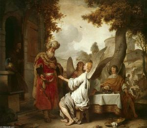 Gerbrand Van Den Eeckhout - Abraham and the Three Angels