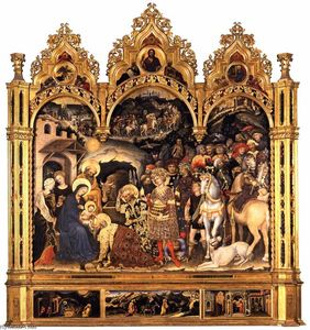 Gentile Da Fabriano - Adoration of the Magi (10)