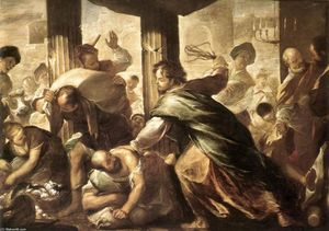 Luca Giordano - Christ Cleansing the Temple