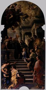 Luca Giordano - Presentation of Mary at the Temple