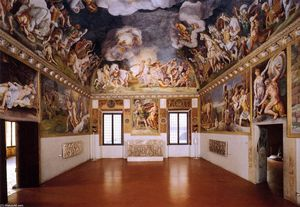 Giulio Romano - View of the Sala di Troia (11)