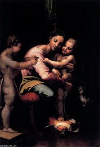 Giulio Romano - Virgin and Child with the Infant St John